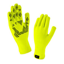 Sealskinz Waterproof Ultra Grip StretchDry Touchscreen Gloves L Hi-vis Yellow 12116170170130