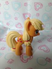 My Little Pony G4  Applejack Pony Tails Single Loose Plastic 4 Inch