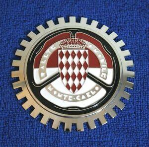 Monte Carlo Chrome Grille Badge Bumper License Topper Accessory Monaco