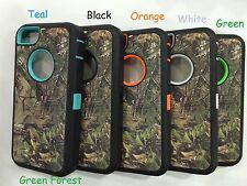 Heavy Duty Shockproof CAMO HYBRID CASE FOR APPLE iPHONE 5 5S