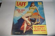 Laff Magazine March 1946 photos/Jane Russell/Valentinoff/Show Girls/humor