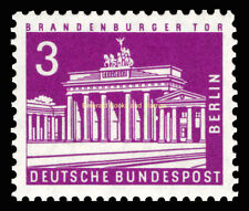 EBS West Berlin 1963 Berlin Townscapes (IV) Brandenburg Gate Michel 231 MNH**