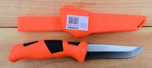Alpina Sport Gebrauchsmesser ANCHO feststehend inkl Scheide Outdoormesser orange