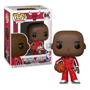 """NBA Basketball Pop Vinyl Michael Jordan Warm Up Uniform 3.75"""" #84"""