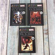 The Ultimate Graphic Novels Collection Marvel - Avengers Vs X Men Part 1 - 3