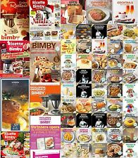 Ricettari bimby libri riviste TM5 TM31 novità 2017+ ricette estate per dimagrire