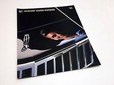 1986 Mercury Grand Marquis Brochure