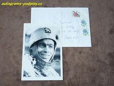 Antonin KASPER sr. (+2017) - original autogramm, Foto+cover 10x15 cm Speedway