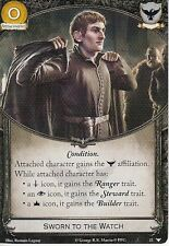 3 x Sworn to the Watch AGoT LCG 2.0 Game of Thrones Watchers on the Wall 22
