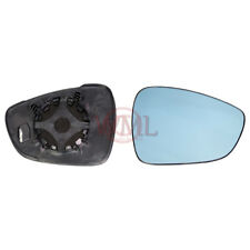 CITROEN C5 2008->ONWARDS DOOR/WING MIRROR GLASS BLUE,HEATED & BASE,RIGHTSIDE
