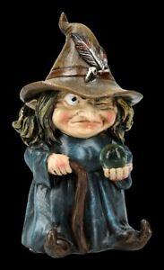 Lustige Hexen Figur - Trouble - Nemesis Now witzige Zauberin Deko