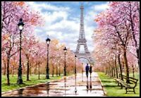 Romantic Walk in Paris - Chart Counted Cross Stitch Patterns Needlework DIY