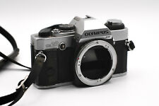 Olympus OM20 35mm Film Camera Kamera silber silver
