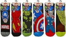 Men's Official Marvel Comics Avengers Character Design Socks Fun Christmas Gift