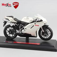 1/18 scale kids motorcycle diecast DUCATI 848 evo moto model street race car toy