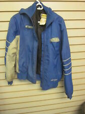Vintage 1980s era Ski Doo Snowmobile Blue Jacket Formula MX Stratos