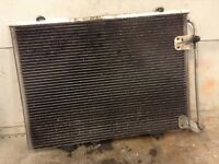MERCEDES BENZ SLK 320 CLASS R170  A/C AIR CON RADIATOR CONDENSER