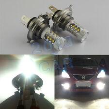 2pcs Led Light Bulbs H4 80w Car Fog Driving DRL Bulb Headlight For Subaru Nissan