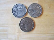(3) Different NASA SKYLAB Medals, SKYLAB I, II, and III