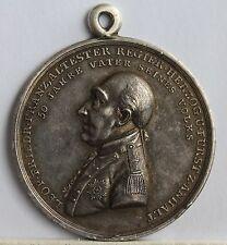 Leopold III Friedrich Franz, Duke of Anhalt-Dessau Silver Medal, 1808. gEF, Rare