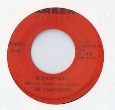 THE LAKESIDERS Boogie Man 45 RECORD PRIVATE MIDWEST BLUES ROCKABILLY