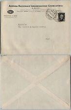 RSI - Marca da bollo 30c(23) usata su busta BARI 9.5.1944