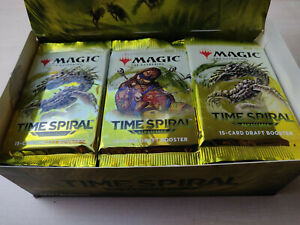 MTG Magic the Gathering Display Time Spiral Remastered TSR ENG REPACK OPENED