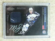 11-12 Panini Contenders Calder RC Rookie Auto Patch #259 MARK SCHEIFELE /100