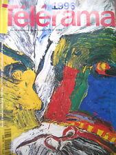 2398 COUV. LINDSTRÖM MANIFS A ROANNE KUROSAWA SANDRINE KIBERLAIN TELERAMA 1996
