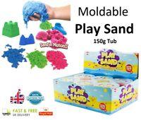 150g MAGIC SAND Tub Moudable Play Sand Dough Girls Boys Kids Toy Coloured Sand