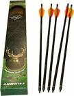 BAR-16075 5 pk 20in Headhunter Carbon Arrows w/ Field Pt by Barnett Crossbows