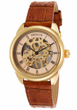Mechanische - (Handaufzugs) Invicta Armbanduhren aus Edelstahl