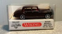 """Wiking 1:87 836 06 """"MB 300 Intermodellbau 2007"""", top in OVP"""