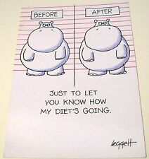 Humour Before After Just to let you know how my Diet's going 20 Hallmark