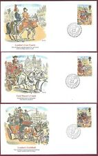 Great Britain FDC Fleetwood Set of Five, 1989, Lord Mayor of London