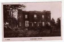 LINCOLNSHIRE, SOMERSBY MANOR HOUSE, 1919, RP