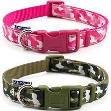 Nylon Adjustable Collar Urban Combat Green & Brown 30 - 50cm Sz 2-5