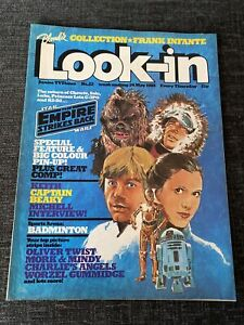 Look In Magazine - 24 May 1980 - Star Wars - The Empire Strikes Back Poster