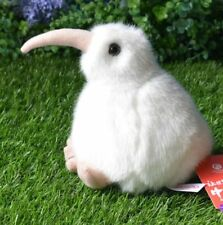 white cute simulation Kiwi bird toy plush Kiwi toy gift about 15cm