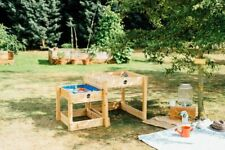 NEW Plum Play Sandy Bay Wooden Sand and Water Tables   Kids Outdoor Fun