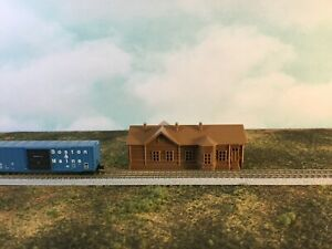 Country Historic TRAIN STATION - TT Scale 1:120  No Assembly Required 3D Model