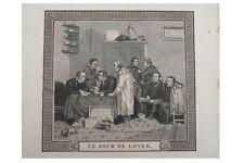 Entrichtung der Wohnungs Miete - Le Jour de Loyer