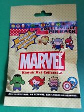Disney Pins MARVEL KAWAII ART 5 pin pack Mystery Pack NEW