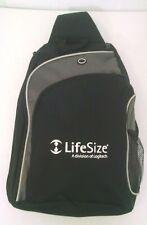 Lifesize Logitech Cross-Body Laptop Messenger Style Backpack
