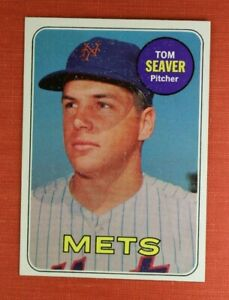 ∎ 1969 TOPPS baseball card TOM SEAVER #480 **MINT CARD**