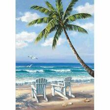 Beach Coconut Tree-5D DIY Diamond Painting Rhinestone Embroidery Picture Beach