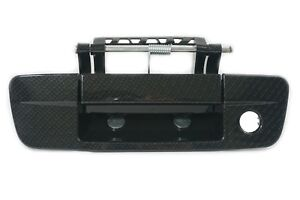 NEW Dodge Ram 1500 2500 3500 Tailgate Handle with Keyhole Carbon Fiber Look