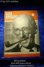 Der Spiegel 3/53 14.1.1953 eine Handvoll Panzer; Privatstratege Liddell Hart