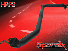 "Sportex Honda Civic Type R performance exhaust race tube 2.5"" 2.0i FN2 2006-"