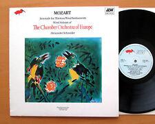 ASV COE 804 Mozart Serenade for Thirteen Wind Instruments Schneider 1985 NM/EX